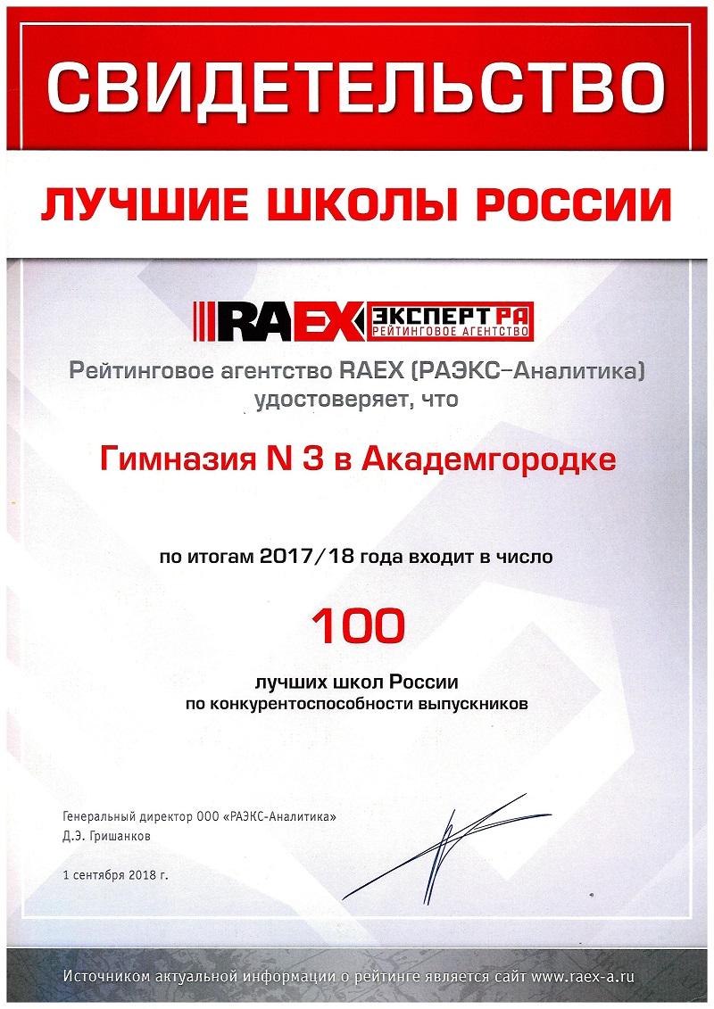 Лучшие 100 школ